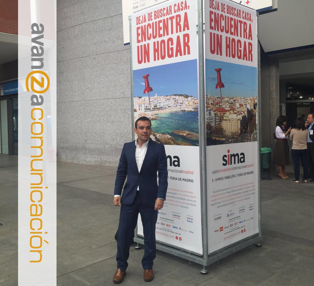 Antonio Alcaraz en SIMA 2016