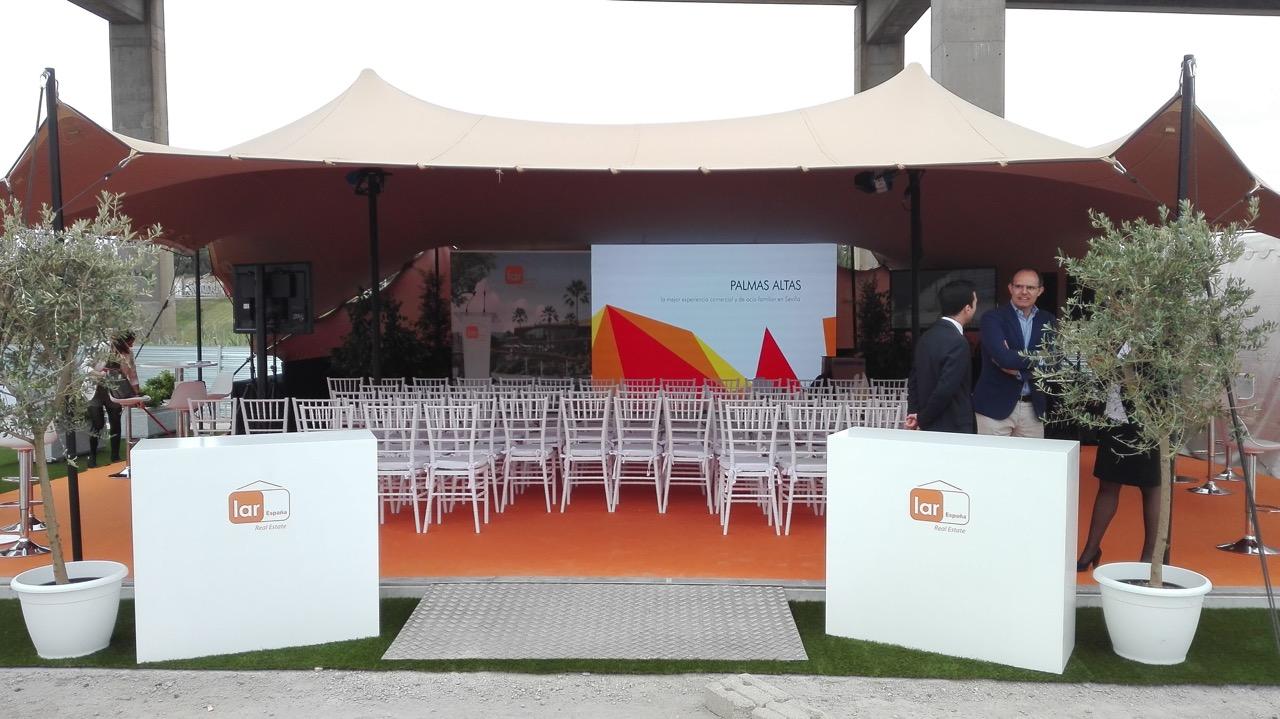Evento LAR España (Centro Comercial Palmas Altas)