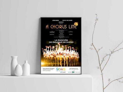 cartel a chorus life teatro soho 500x375 - Lanzamiento de A Chorus Line